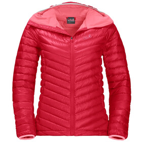 Jack Wolfskin Atmosphere Jacket Women, clear red